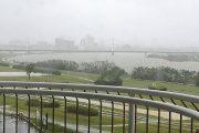 台風21号 淀川
