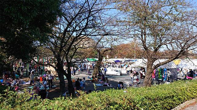 """川崎市中原区:なかはら""""ゆめ""""区民祭の様子"""