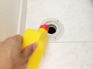 洗濯機排水管掃除